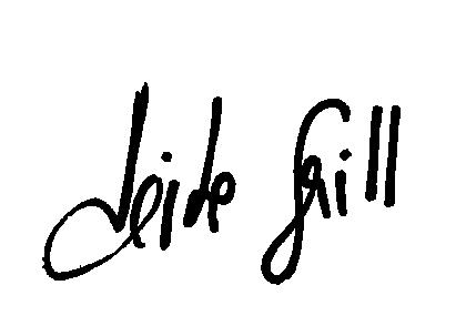 Unterschrift Heike Grill